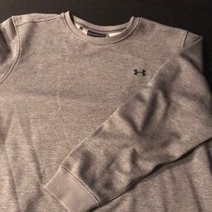 UA crew sweatshirt  gray